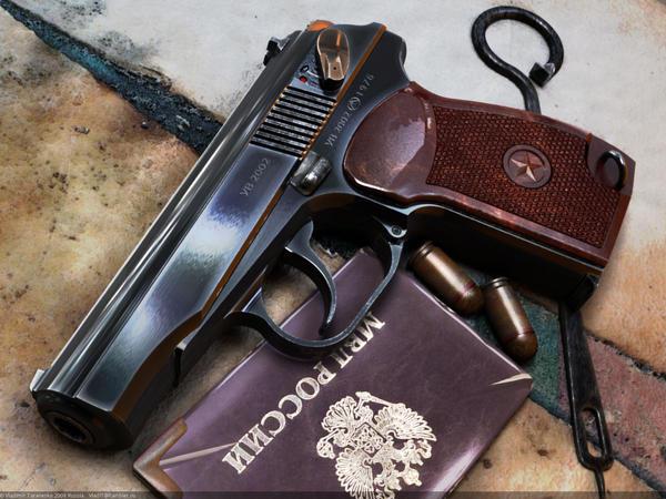Makarov Russian Service Pistol By Vladit