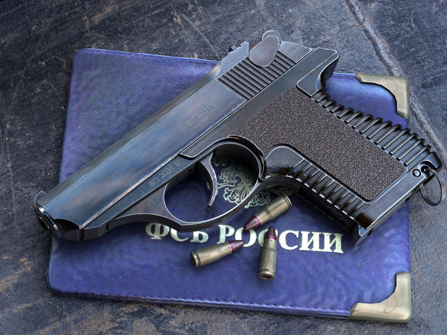 Russian PSM pistol by VladiT