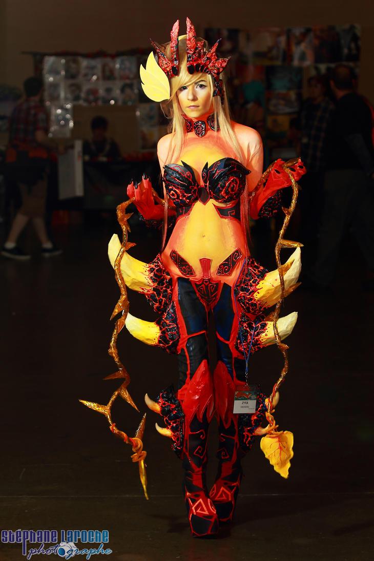 Wildfire Zyra Cosplay by DanielleBeaulieu