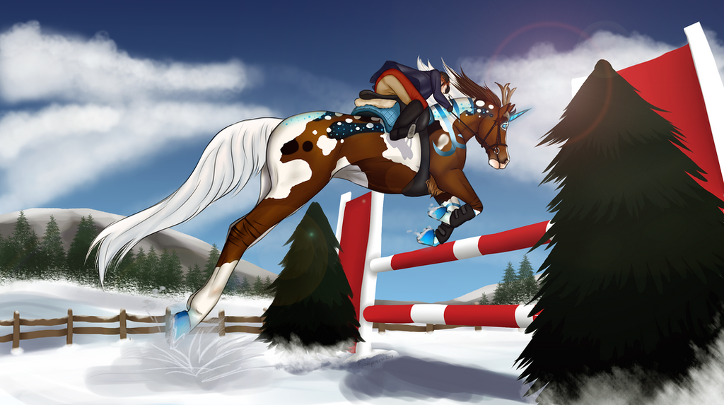 From oceans to mountains - 80 cm show jumping by fujoshiprincess