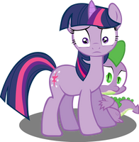 Twilight and Spike meet their makers? by AgryX