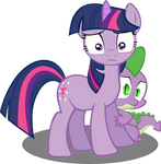 Twilight and Spike meet their makers?