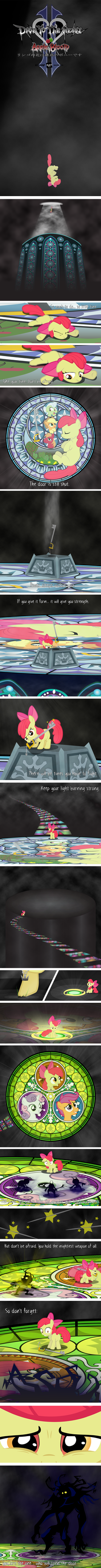 Dive to the Heart - Apple Bloom by AgryX