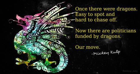 Dragons by mickeykulp