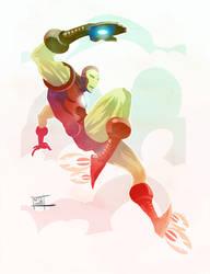 Iron Man by Nezart