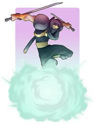 Ginzu the ninja by Nezart