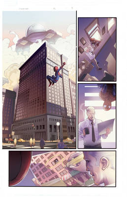 Color Samples on Marvel Adventures Spiderman