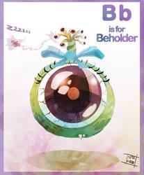 B beholder by Nezart