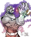 Thanos by Nezart