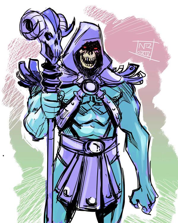 Skeletor by Nezart