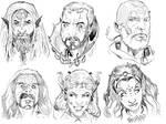 Faces of Evil by Nezart