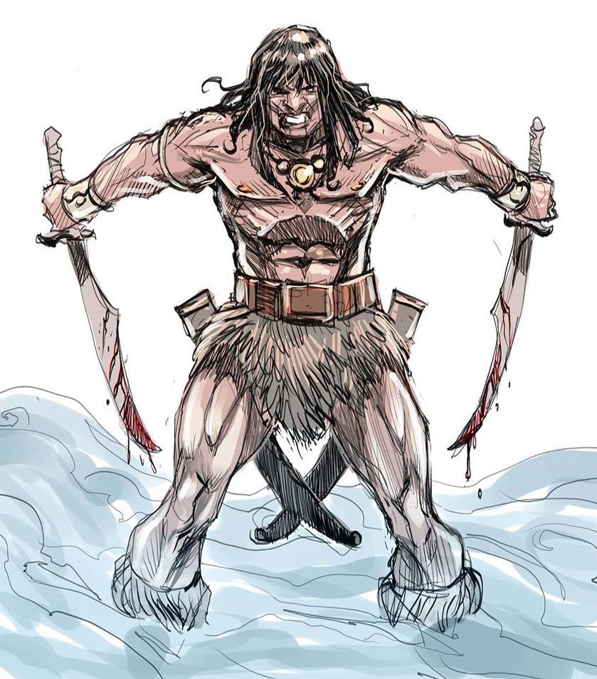 Conan by Nezart