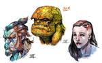 Faces by Nezart