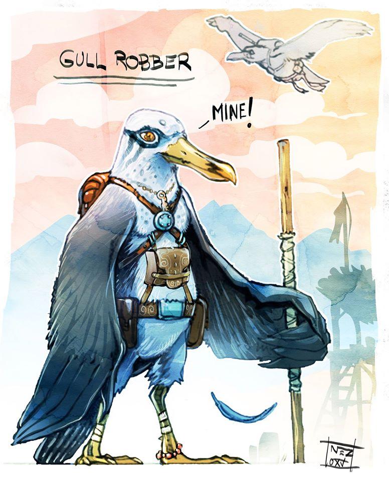 Gul Robber by Nezart