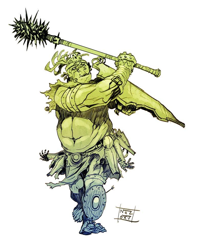 Ogre Chieftain by Nezart