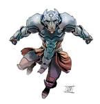 Iron Wolf by Nezart