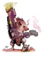 Cosmic critter by Nezart