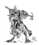 Mud Kineticist by Nezart