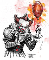 Pennywise by Nezart