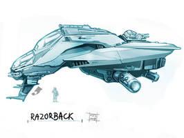 Razorback by Nezart