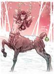 Reindeer centauress