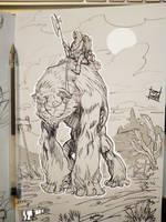 Gorilla mount by Nezart
