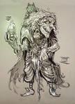 Sketchbook creatures: The Hag
