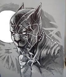 Black Panther mask by Nezart