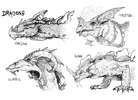 Dragon compilation by Nezart