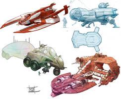 Sci fi compilation 2 by Nezart
