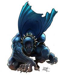 Black panther by Nezart