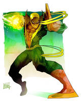 Iron fist by Nezart