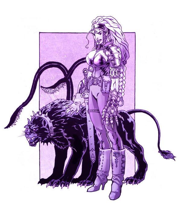 Xalia, Mistress of Deceit by Nezart