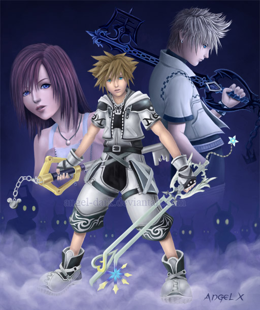 Kingdom Hearts II by Angel-Dark