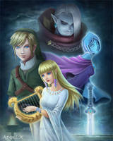 Zelda: Skyward Sword by Angel-Dark