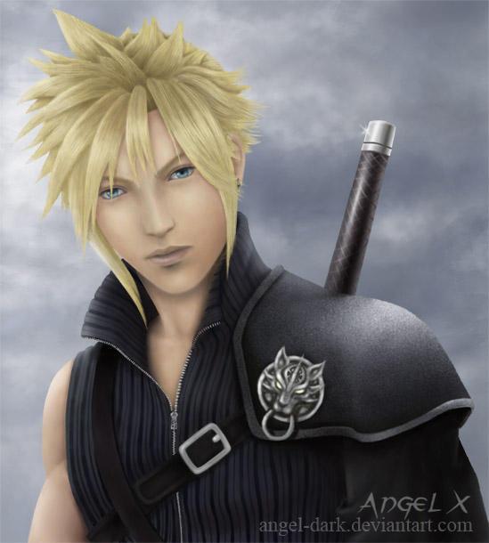 Final Fantasy Cloud Strife Wallpaper: Cloud Strife By Angel-Dark On DeviantArt