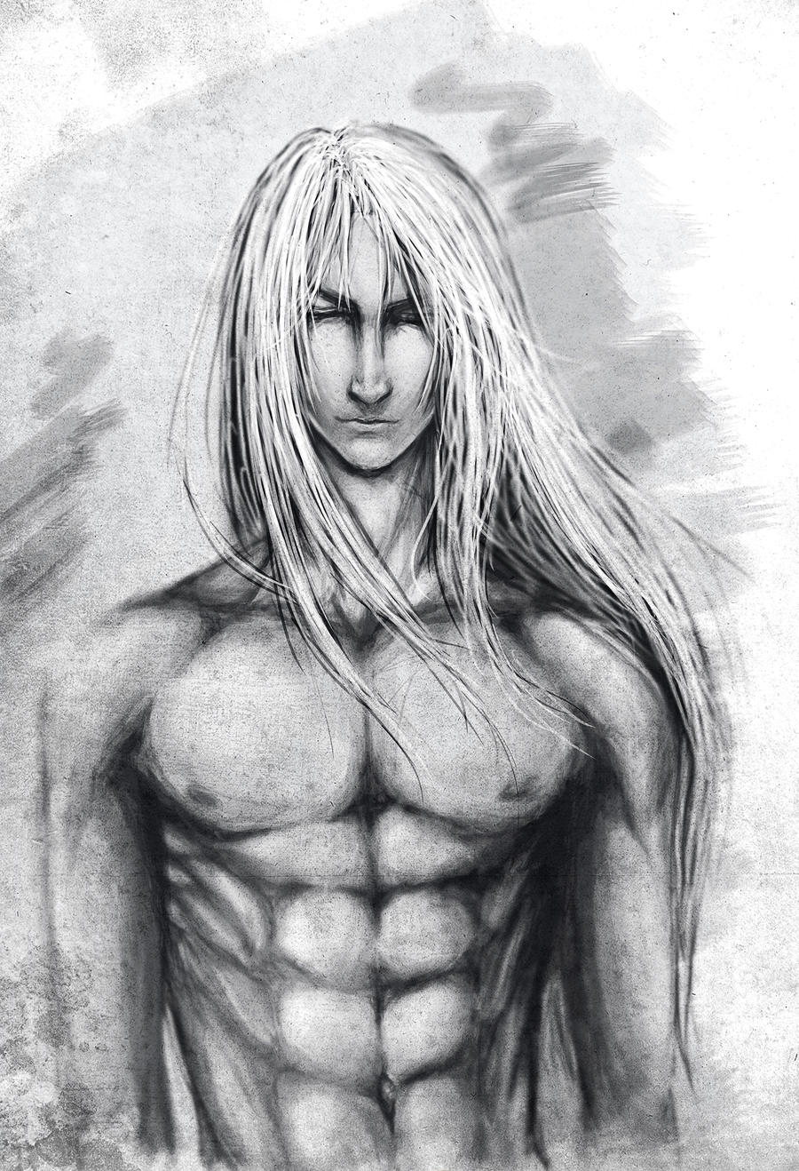 sephiroth by strangexreality