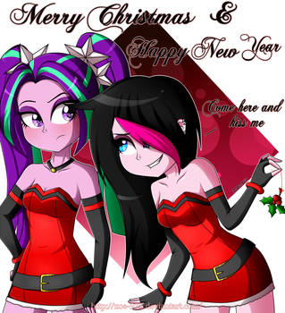 Merry Christmas And Happy New Year (VERY LATE D'8) by Zoe-975