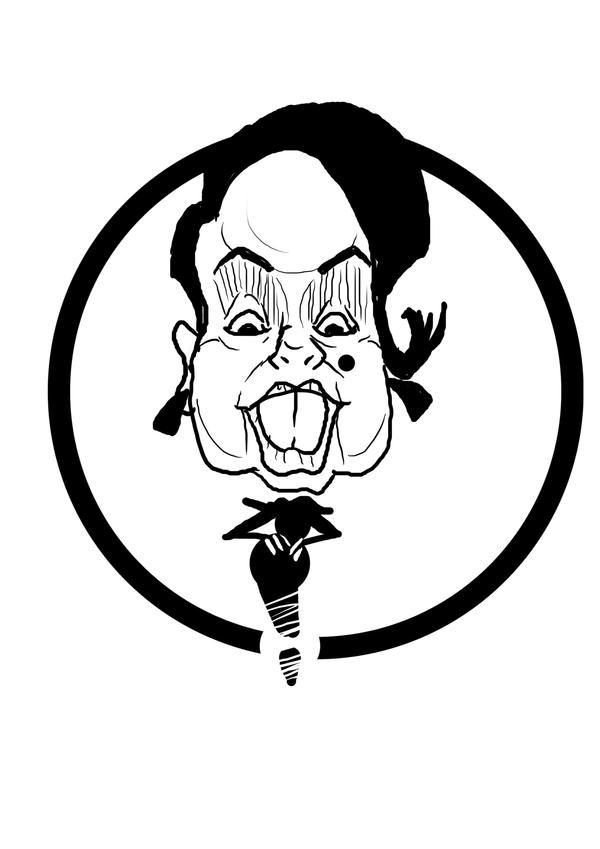 caricature: gloria by benci04