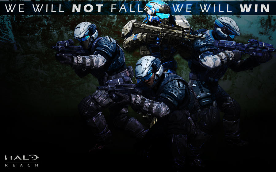 Halo Reach Wallpaper by WanderingWolfy