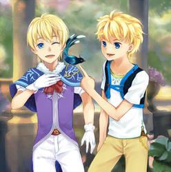 Raphael and Chris by sunnytrace