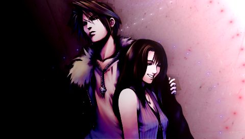 Squall And Rinoa Wallpaper Squall Rinoa Psp by Jbeave