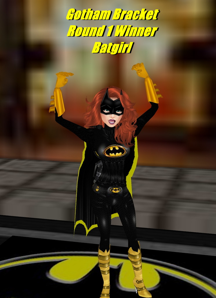 Batgirl wins by Mary-Margret