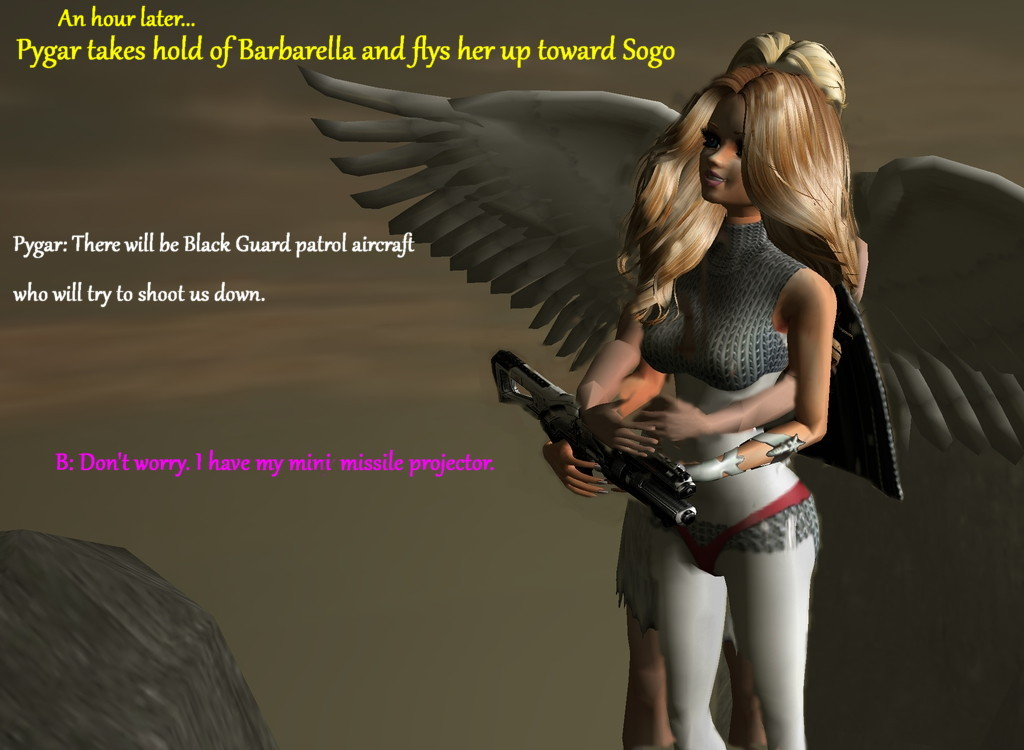 Barbarella Part 5B by Mary-Margret
