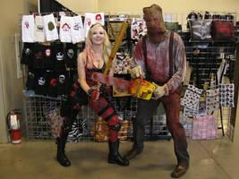 Texas Chainsaw Harley Quinn
