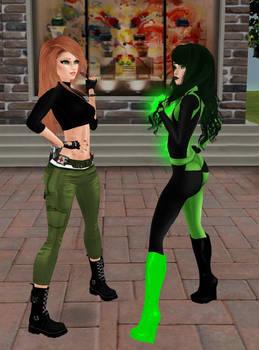 Kim Possible vs Shego