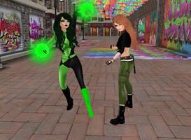Kim Possible vs Shego 02