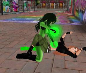 Kim Possible vs Shego 04