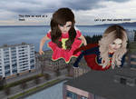 Supergirl vs Mary Marvel 44 by Mary-Margret