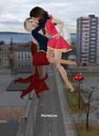 Supergirl vs Mary Marvel 50 by Mary-Margret